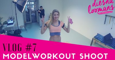 VLOG #7 MODELWORKOUT SHOOT