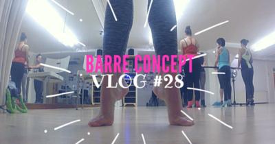 VLOG #28 BARRE CONCEPT – EEN MIX VAN FITNESS&BALLET