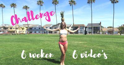CHALLENGE GET SUMMER READY! 6 WEKEN – 6 VIDEO'S (GRATIS)