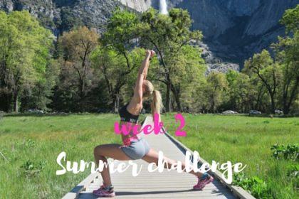 CHALLENGE - 6 WEKEN - WEEK 2 ♥ SUMMER FIT! DOE MEE