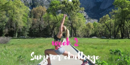 CHALLENGE – 6 WEKEN – WEEK 2 ♥ SUMMER FIT! DOE MEE