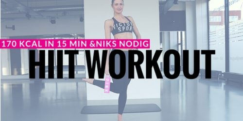 15 minuten HIIT workout