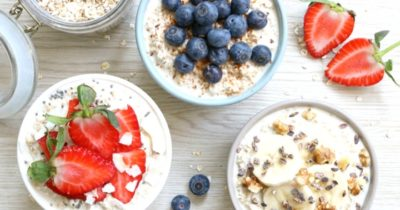3x overnight Oats by Jennifer